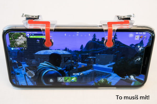 iphone fortnite trigger